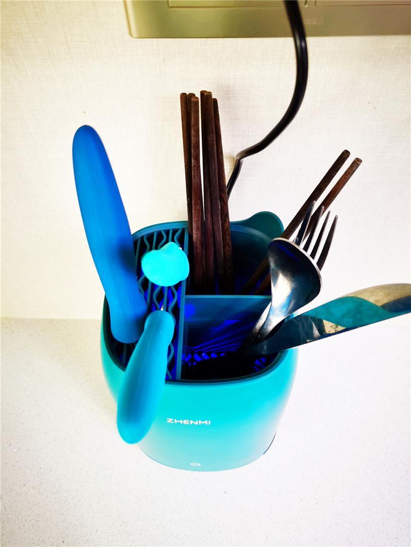 消毒柜太麻烦?臻米帮你解决,刀叉筷子消毒机已备好