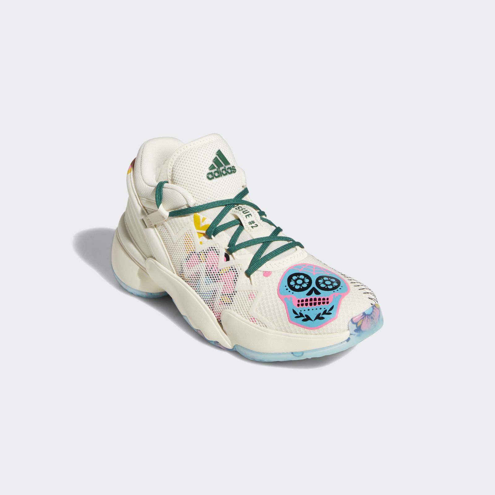 亡灵节限定米白色adidas D.O.N. Issue 2 GCA即将登陆大中华地区