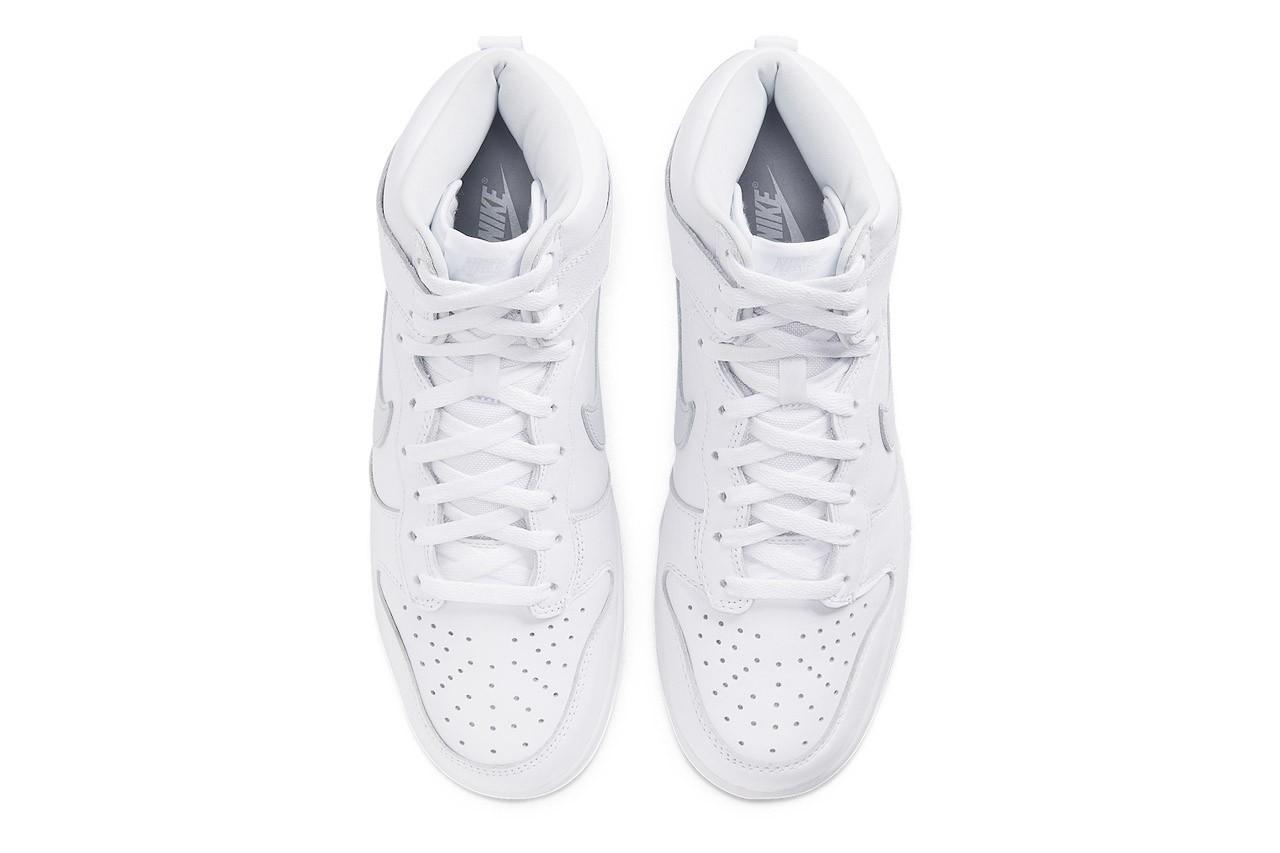 Nike Dunk High 全白配色「Pure Platinum」发售情报正式公开