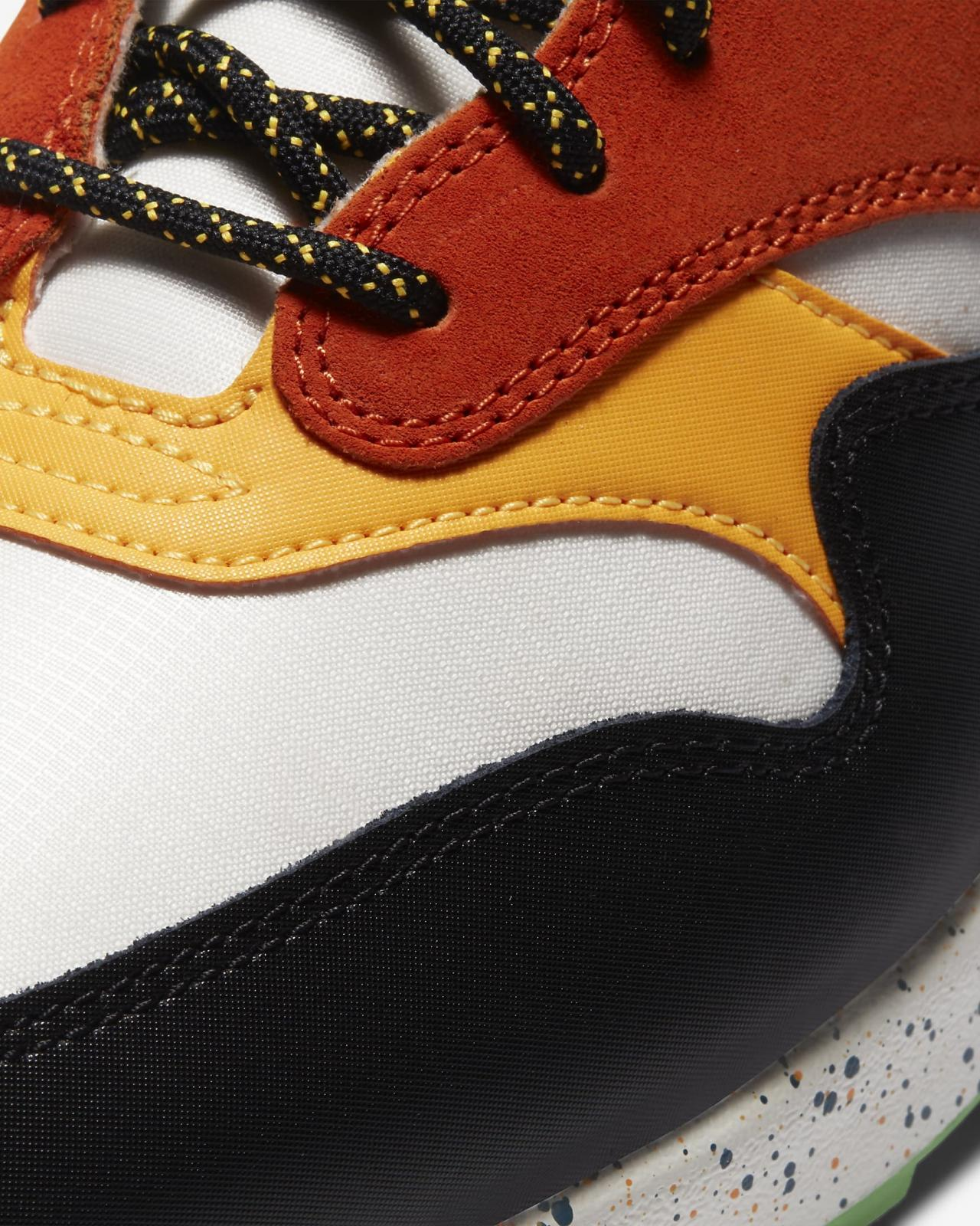 Nike Sportswear推出全新幻影灰/深渊绿/海星橙/黑色Air Max 1