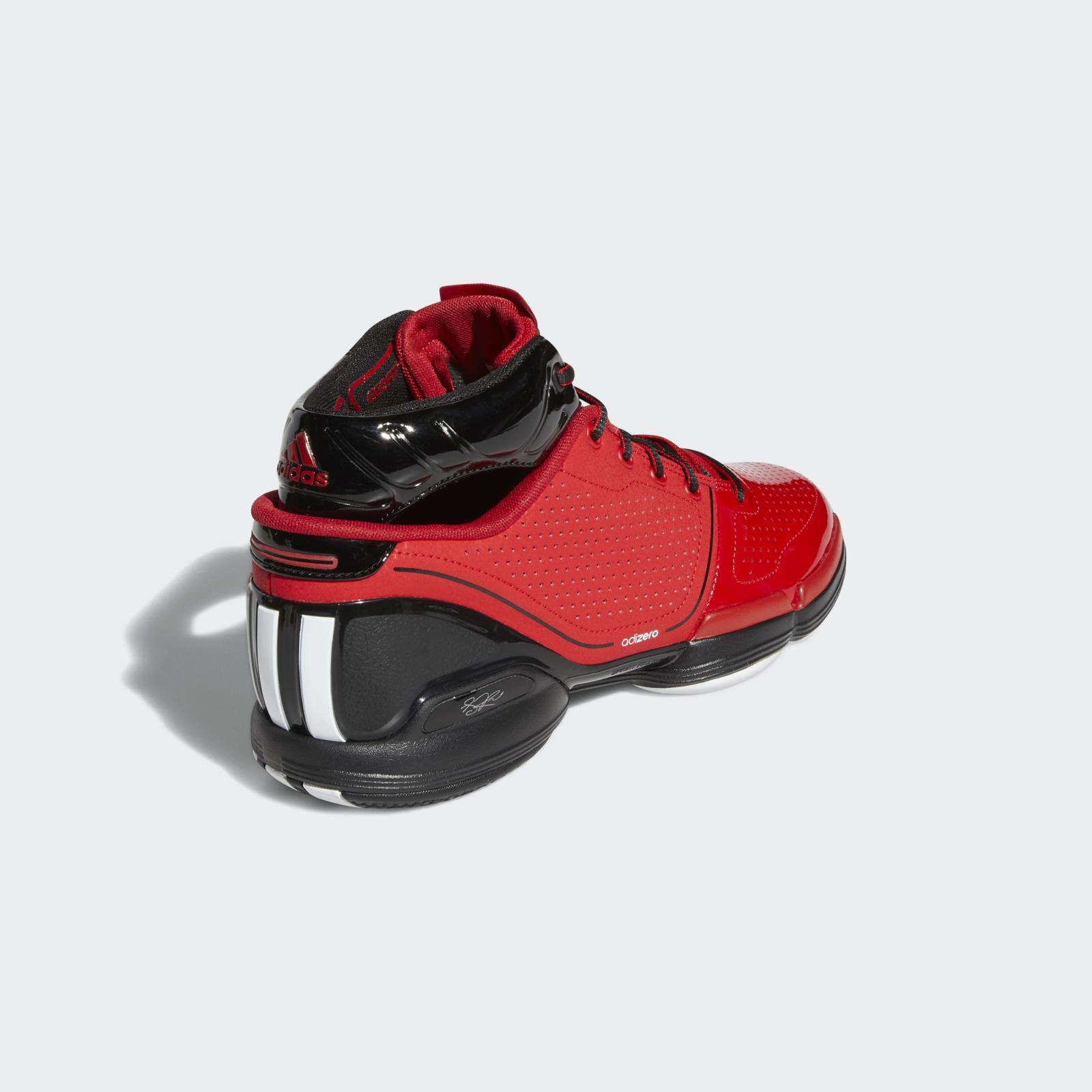 adidas Basketball发布全新白/一号黑色adiZero Rose 1