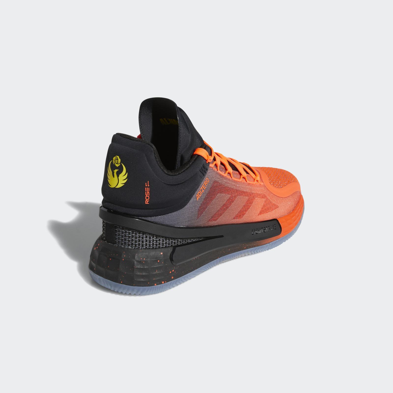 adidas Basketball发布全新一号黑/红荧光/黄色D Rose 11