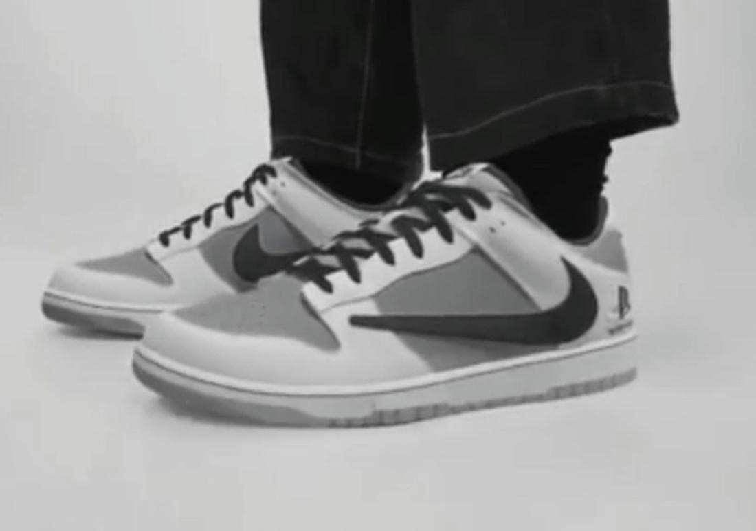 Travis Scott x PlayStation x Nike三方联名Dunk Low低调亮相