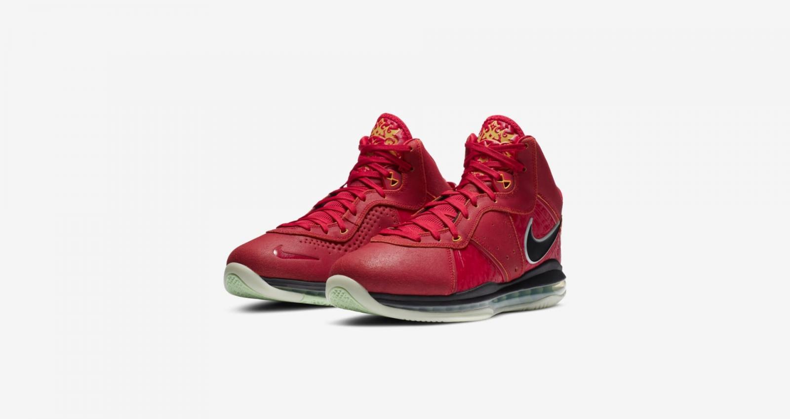"Nike Basketball发布全新LEBRON VIII QS ""Empire Jade"""