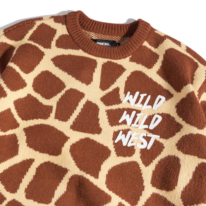 PHANTACi发布全新Giraffe Sweatshirt服饰单品