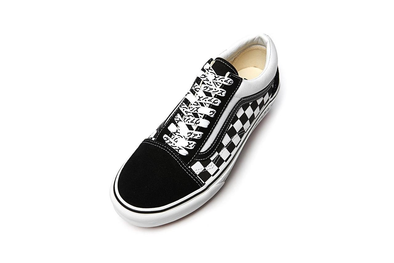Vans 推出全新棋盘格片假名样式 Old Skool 鞋款