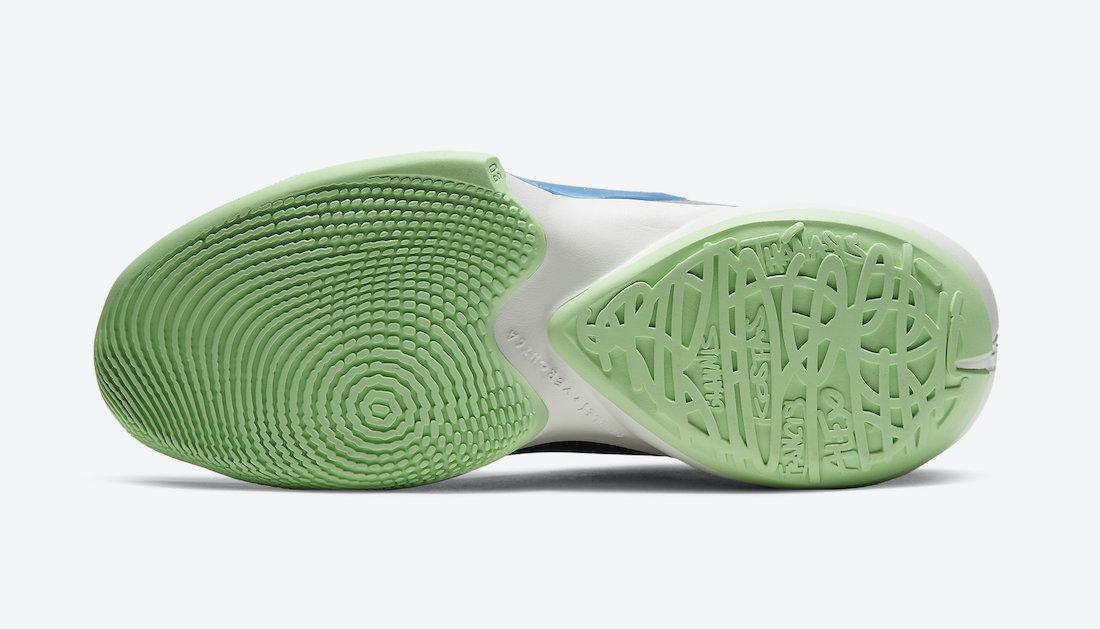 预览全新微粒灰/黑/超越蓝/帆白色Nike Zoom Freak 2官方产品图