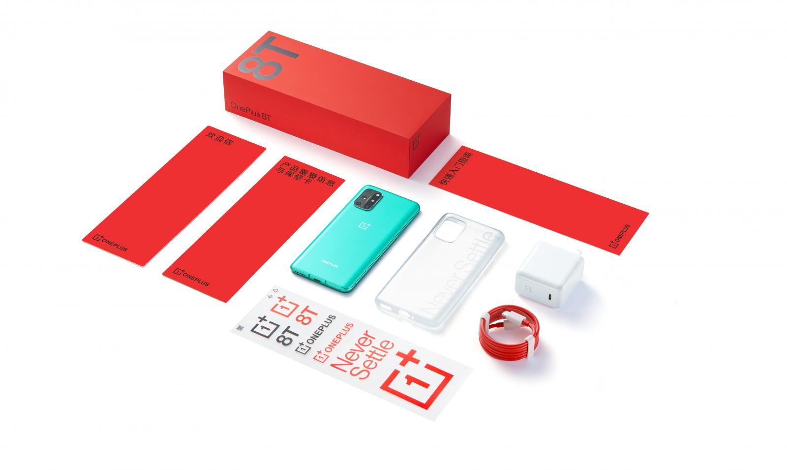 一加 8T 手机、真无线耳机OnePlus Buds Z发布