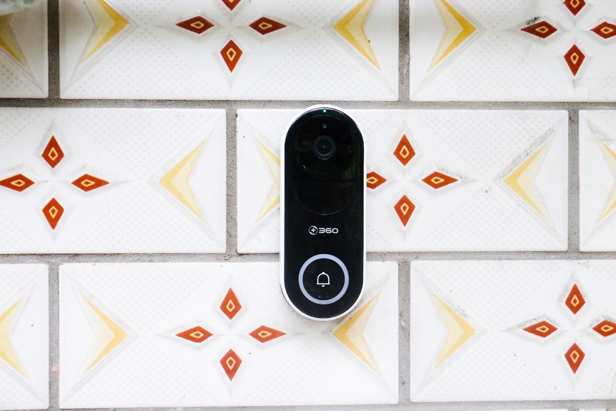安全问题马虎不得,360可视门铃给你满满地安全感的男朋友