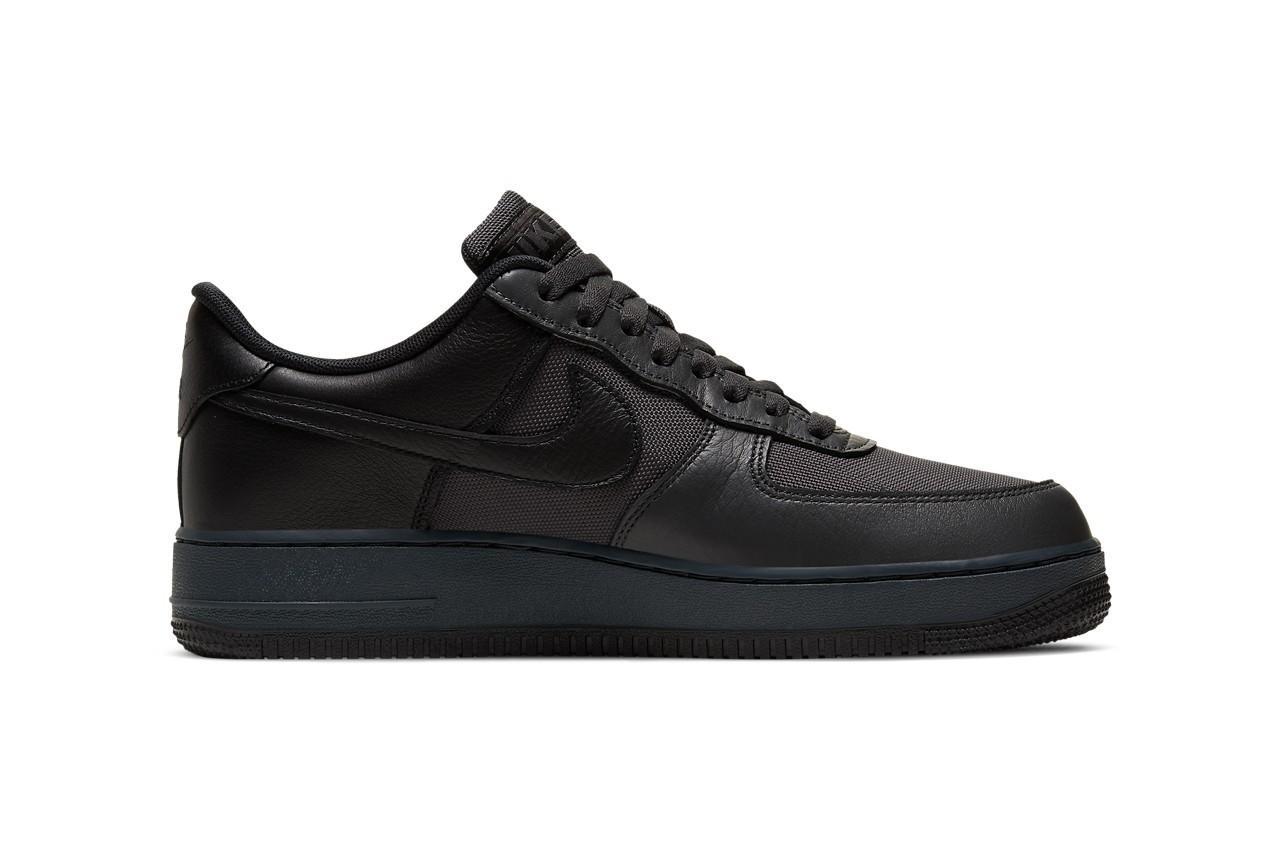Nike Air Force 1 GORE-TEX 全新配色「Anthracite/Barely Grey/Black」正式登场