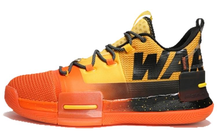 匹克 态极闪现 篮球鞋 警告配色 亮橙